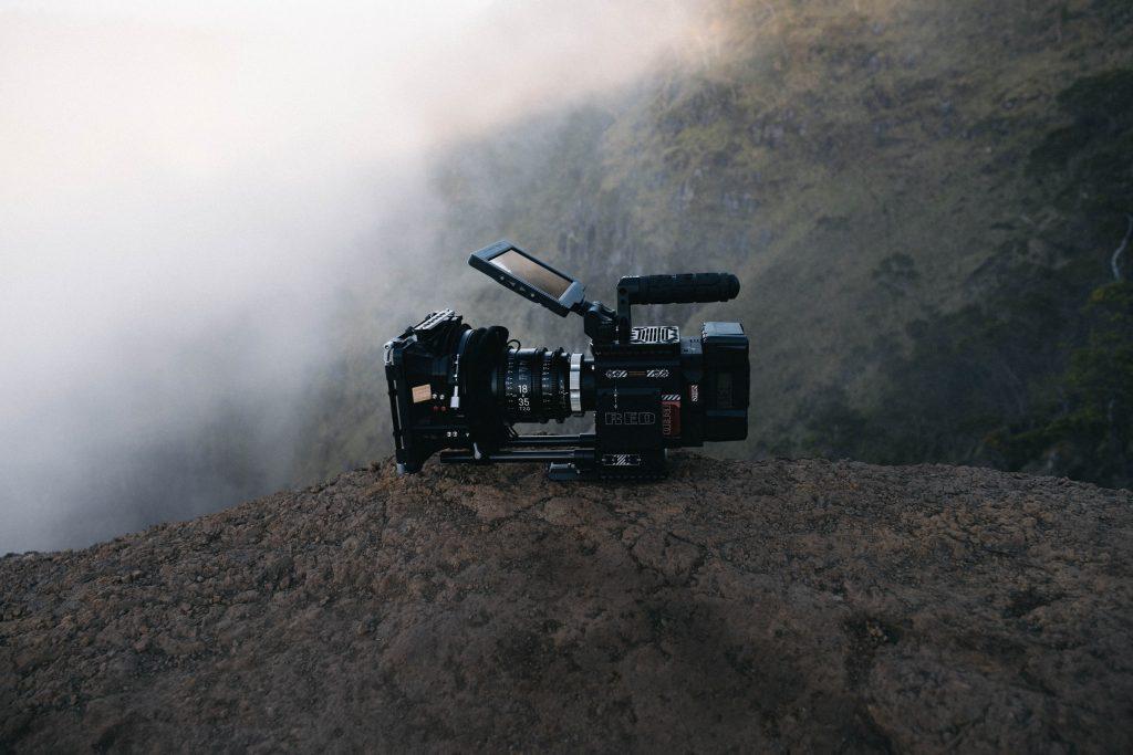 Red Video Camera