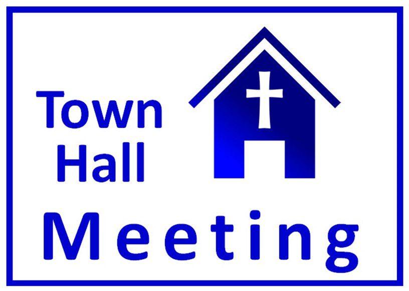 Town Hall Meeting  November 1st